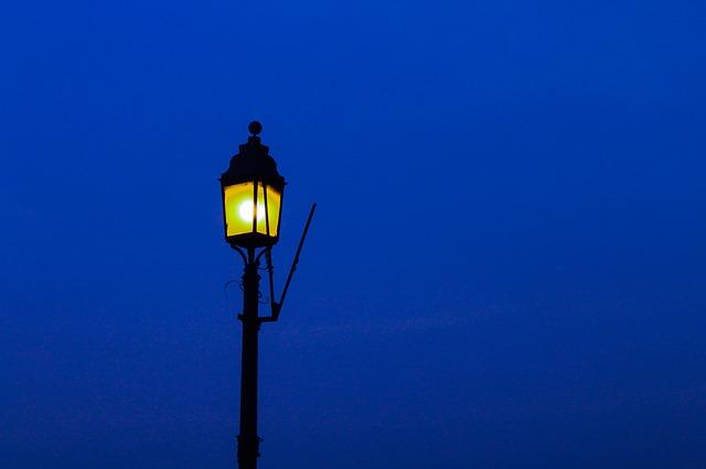 romantická lampa