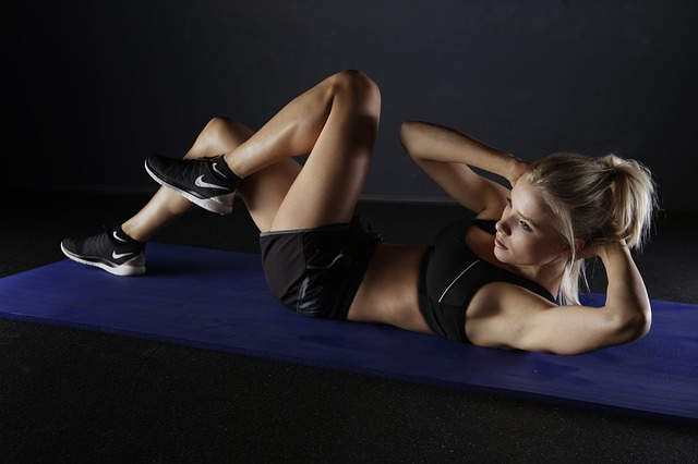 posilévání břišních svalů